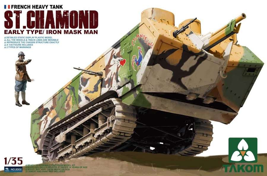 French Heavy Tank St.Chamond Early Type