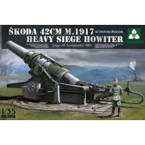 Skoda 42cm M1917 Heavy Siege Howitzer