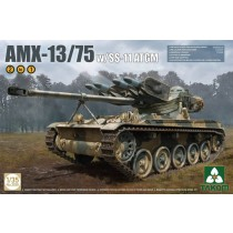 French Light Tank AMX-13/75 with SS-11 ATGM