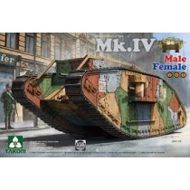 WW I Heavy Battle Tank Mk.IV (2 in 1) Special Edition