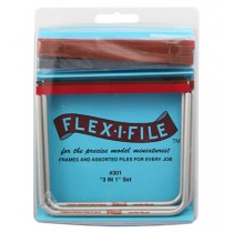 Flex-I-File 3-pack set med 16 slip-band