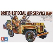 Brittish SAS jeep