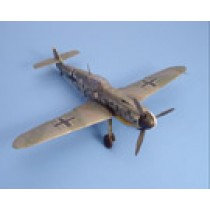 Bf109F2/F4 conversion set for HAS Bf109G