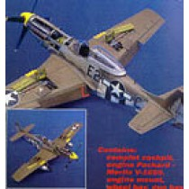 P-51D Mustang detail set for Tamiya.