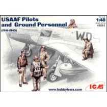 USAAF pilots and ground personell 1941-45