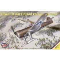 Fokker D.XXI Finnish Air Force Hi-tech