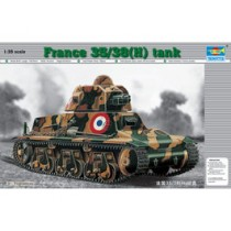 French 39(H) Tank SA 18 37mm gun