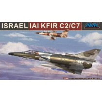 IAI Kfir C2/C7, 9 decal options