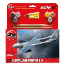 Vampire T.11 Starter Set incl paints, brushes & cement (FV Sk28)