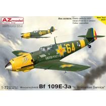 Bf109E-3 in Romanian service NEW TOOL