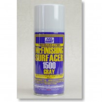 Mr. Finishing Surfacer Gray 1500, 170 ml aerosol
