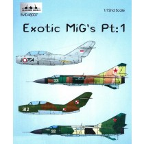 Exotic Migs part 1