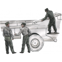 German WWII personnel for 1/72  Meillerwagen