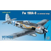 Fw190A-8 w. universal wings WEEKEND EDITION