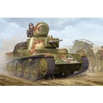 Hungarian Light Tank 38M Toldi II Base for Strv 38