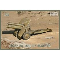 Obice da 100/17 Mod. 16, Italian version of Skoda 100mm Howitzer incl. optional metal barrel