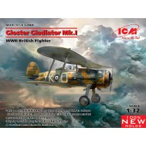 Gloster Gladiator Mk.I NEW TOOLS!