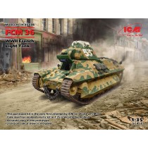 French FCM 36 WWII Light Tank