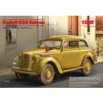 Opel Kadett K38 Saloon, WWII German Staff Car