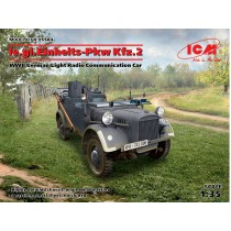 le.gl.Einheitz-Pkw Kfz.2, WWII German Light Radio Communication Car