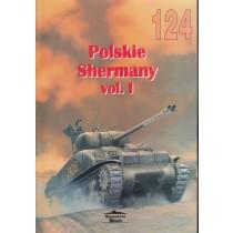 Polish Shermans vol. I - Militaria 124, bilingual Pol / Eng