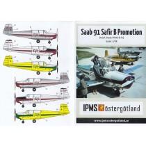 SAAB 91 Safir B Promotion