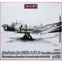 Ju86K-1 SwAF B3 Conversion set part I