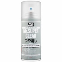 Klarlack matt, 170 ml Mr. Super Clear Matt, aerosol NORGE? SE INFO