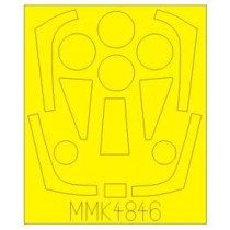 SAAB 32 Lansen paint mask (TAR)