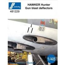 Hawker Hunter gun blast deflectors (F9)