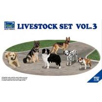 Livestock Set Vol.3 (six dogs)