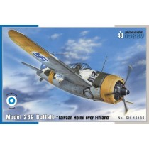 Brewster model 239 Buffalo Taivaan Helmi over Finland (ex Classic Airframe)