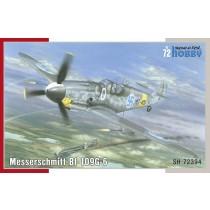 Bf109G-6 Mersu over Finland