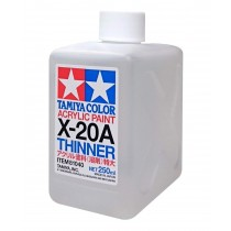 Acrylic paint thinner X-20A(250 ml)