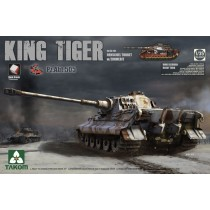 SdKfz 182 King Tiger, Henschel Turret w. Zimmerit & Interior, Special Edition PzAbt 505