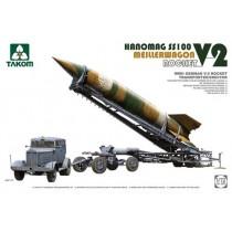 V-2 with Transporter/Erector Meillerwagen + Hanomag SS100