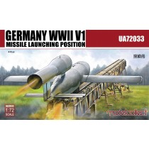 V-1 and Missile launching position, 2 in 1