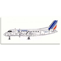 SAAB 340 Air France Commuter (resin)