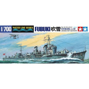 IJN destroyer FUBUKI