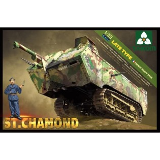 French Heavy Tank St.Chamond Late Type
