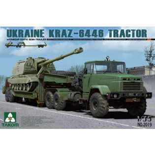 Ukraine KrAZ-6446 Tractor w/ChMZAP-5247G