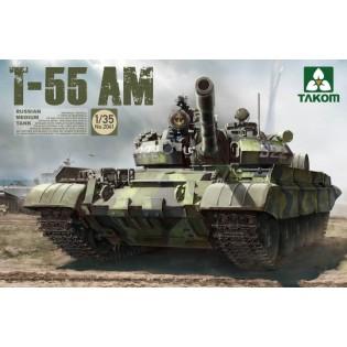 Russian Medium Tank T-55 AM