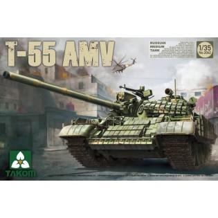 Russian Medium Tank T-55 AMV
