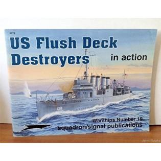 US Flush Deck Destroyers in Action