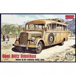 Opel Blitz Omnibus Model W.39 Ludewig-Built, Late