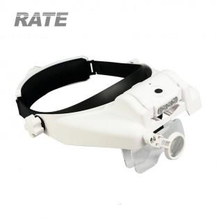 Pro Helmet förstoringsglasögon 1 - 3,5 x (USB-laddning)