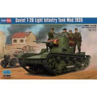 Soviet T-26 Light Infantry Tank
