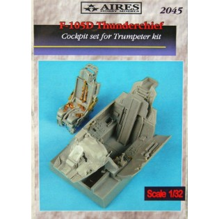 F-105D Thunderchief cockpit set (TRU)