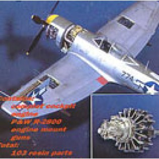 P-47N Thunderbolt detail set ACA