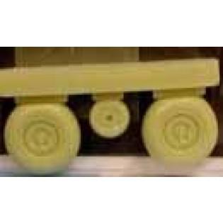 Me110G wheels + paint mask
